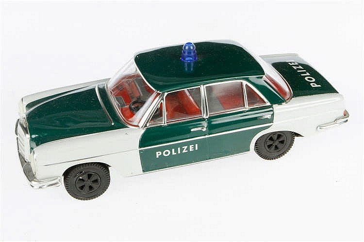 Huki Polizei-Mercedes 5/23/F