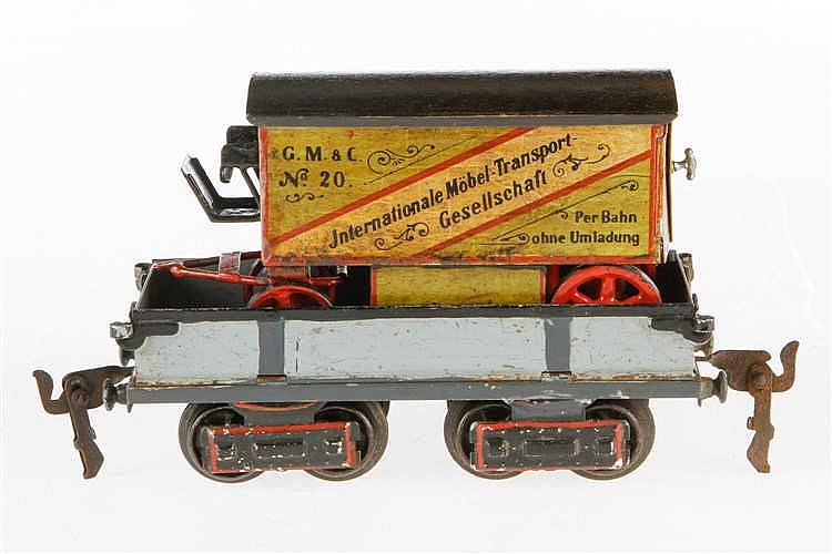 Replik Unterwagen mit Möbeltransporter