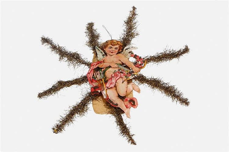 Lametta-Weihnachtsstern