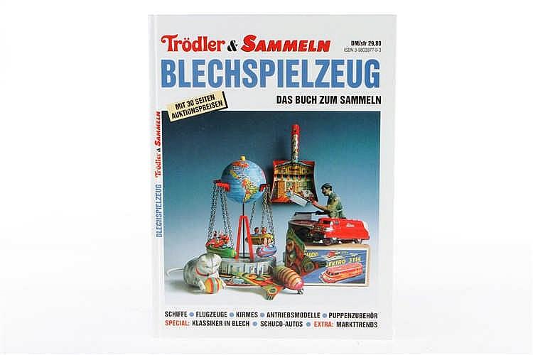 """Buch """"Trödler & Sammeln Blechspielzeug"""""""