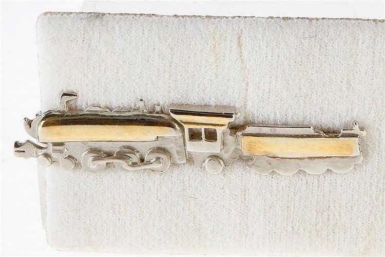 Krawattenklammer 2-C-1 Schlepptenderlok