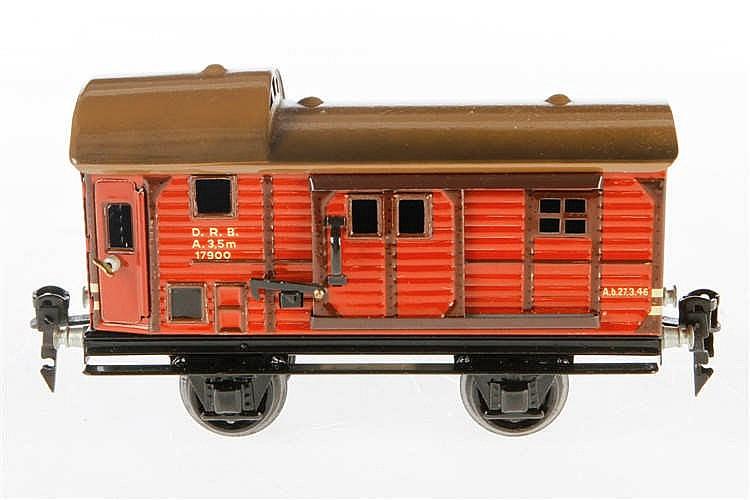 Märklin Güterzug-Gepäckwagen 1790