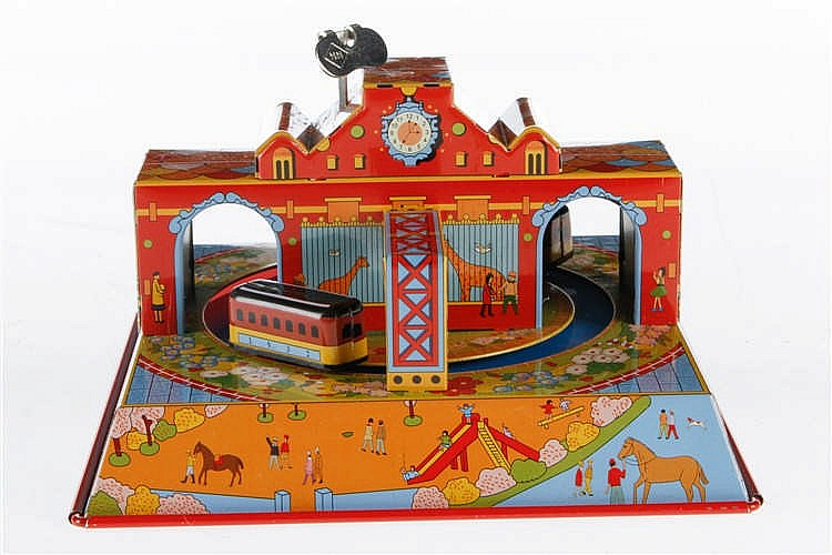 "HA HA Toy Uhrwerkbahn ""Merry Town"" MS628"