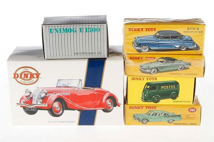 Konv. Dinky Modellfahrzeuge