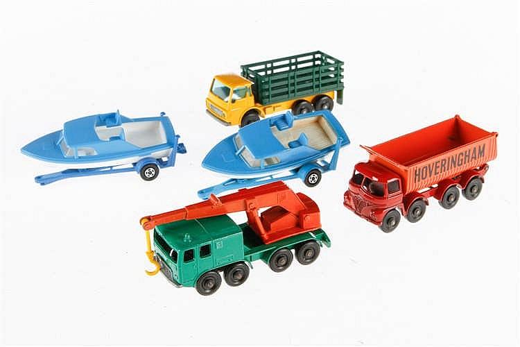 5 Matchbox Fahrzeuge 4