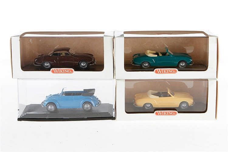 4 versch. Wiking-Modelle