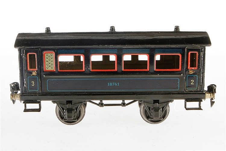Märklin Personenwagen 1874