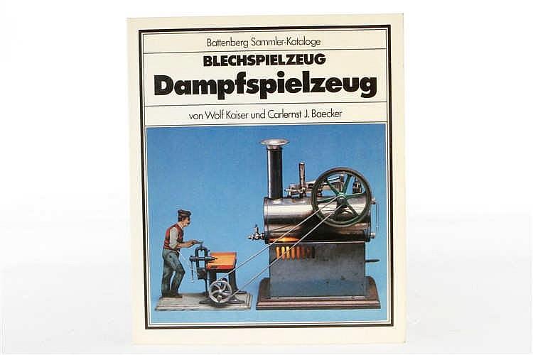 """Battenberg-Buch """"Dampfspielzeug"""""""