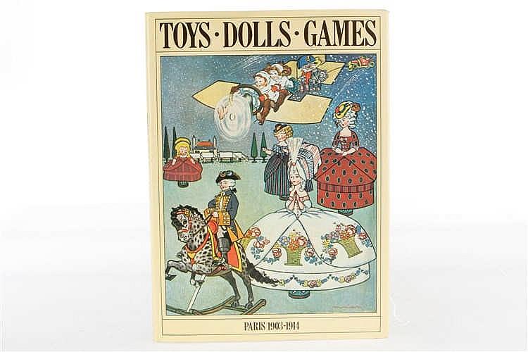 """Buch """"Toys Dolls Games"""""""