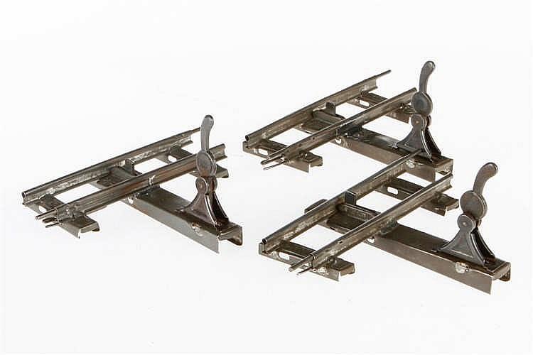 3 Märklin Brems- und Umschaltschienen 1620 DSU