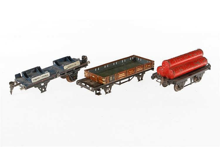 3 Wagenfragmente