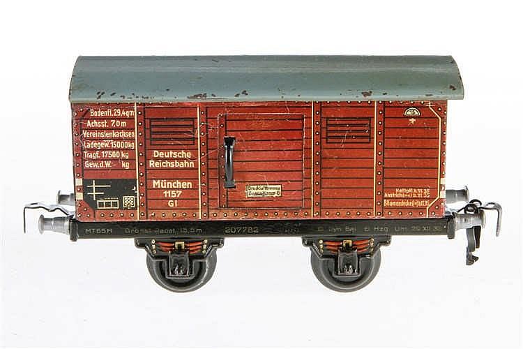 Kraus/Fandor gedeckter Güterwagen