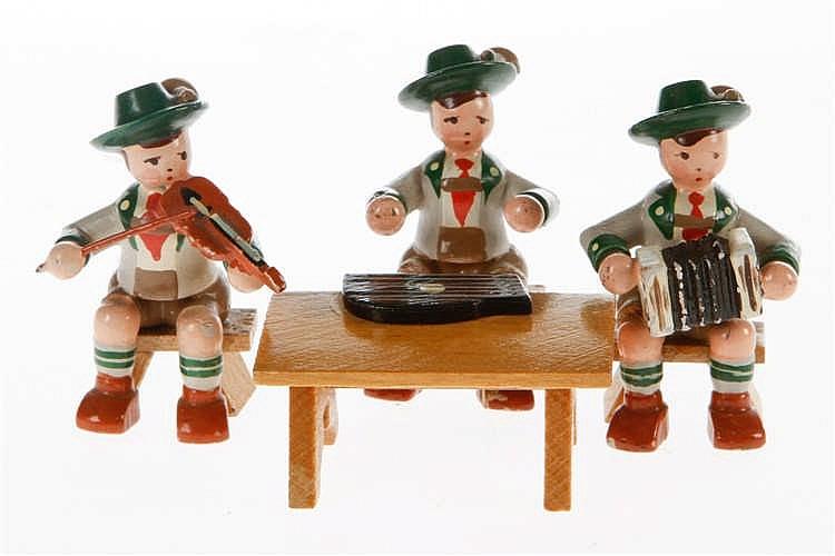 3 Erzgebirge bayerische Musiker