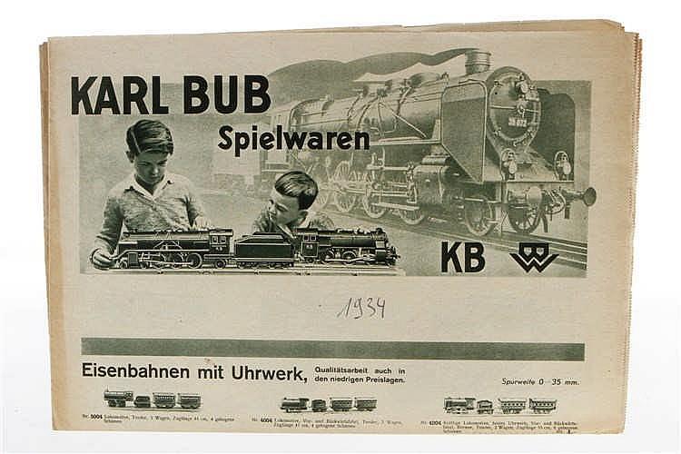 Bub Katalog-Zeitschrift 1934