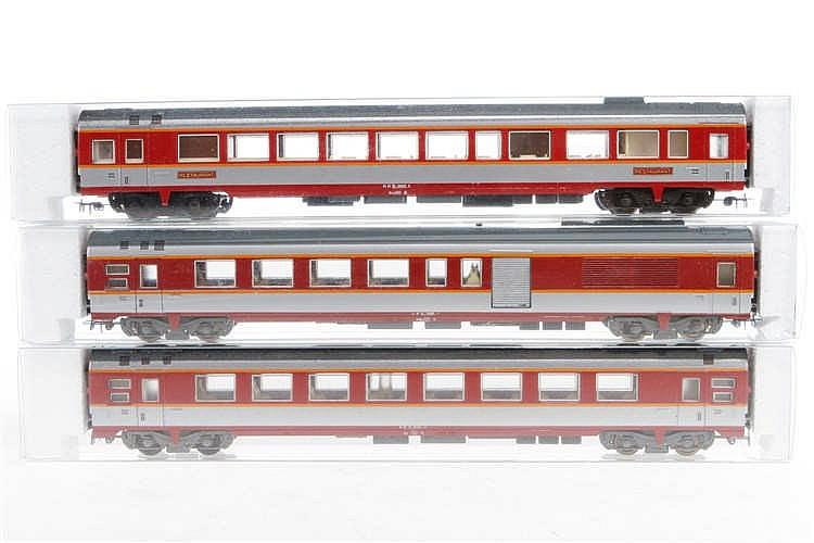 3 Jouef Wagen 5341/5342/5343