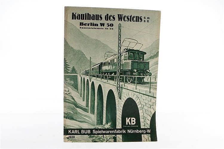 Bub Katalog 1938