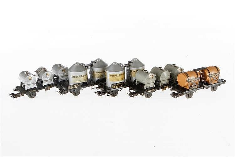 5 Märklin Güterwagen 4510