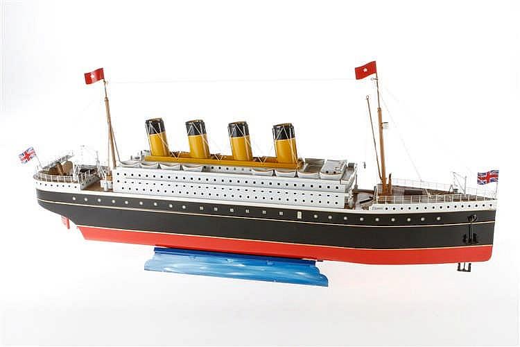 """Tucher & Walther Passagierdampfer """"Titanic"""""""