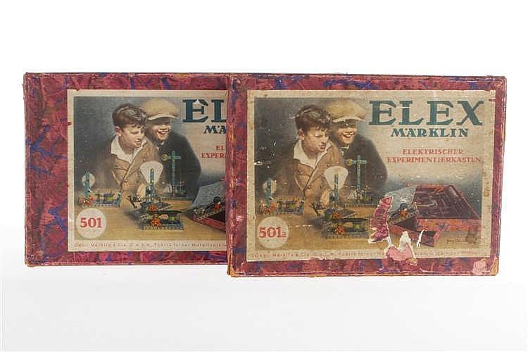 2 Märklin Elex Leer-OK's 501 und 501 A