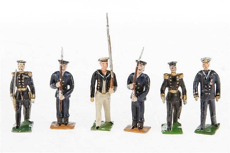 6 Heyde Marine-Soldaten