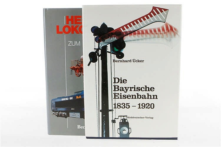 """2 Eisenbahnbücher """"Bayrische Eisenbahn 1835-1920"""" und """"Henschel Lokomotiven"""""""
