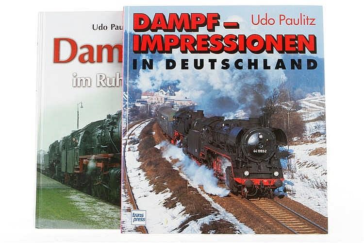 """2 Bücher """"Dampfloks im Ruhrgebiet"""" und """"Dampfimpressionen in Deutschland"""""""
