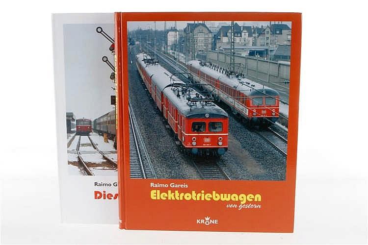 """2 Eisenbahnbücher """"Elektrotriebwagen"""" und """"Diesellokomotiven"""""""