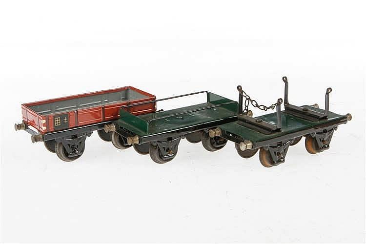 3 Replik-Güterwagen