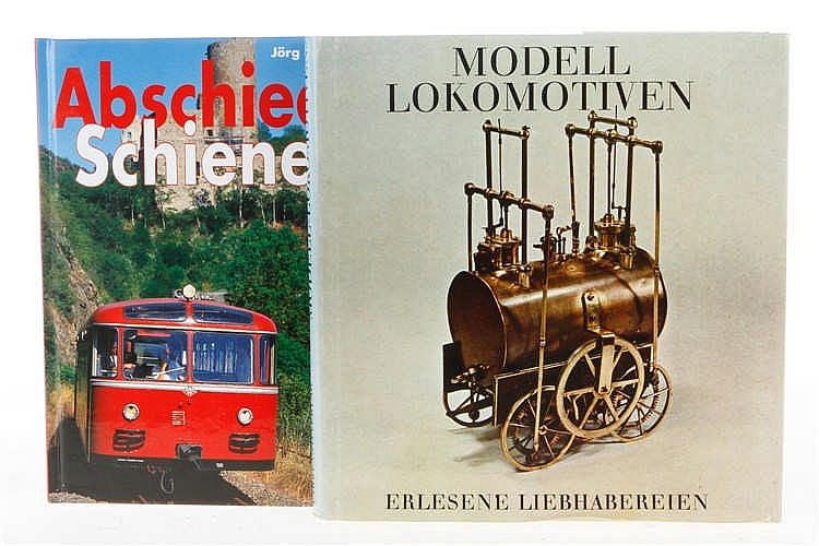"""2 Bücher """"Modell-Lokomotiven"""" und """"Abschied vom Schienenbus"""""""