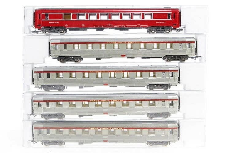 5 Jouef Wagen 468/869