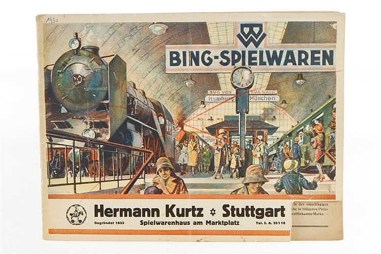 Bing Spielzeugkatalog 1930
