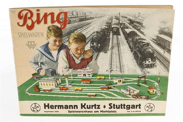 Bing Spielzeugkatalog 1931