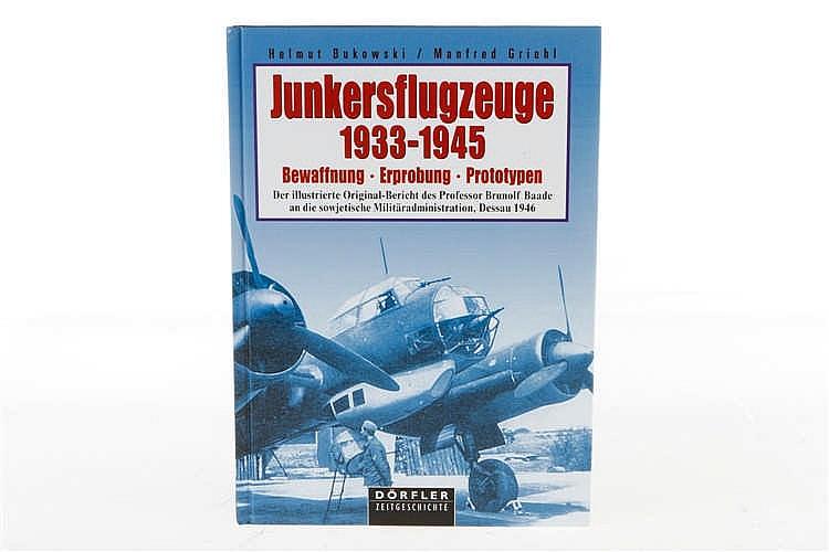 "Buch ""Junkersflugzeuge 1933-1945"""