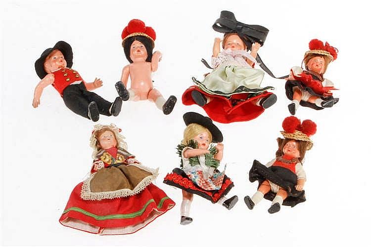 7 Tiroler Püppchen