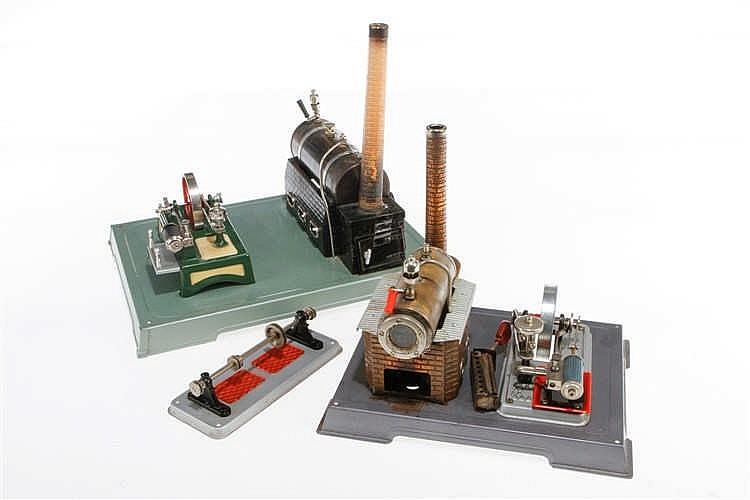 Fleischmann und Wilesco Dampfmaschine