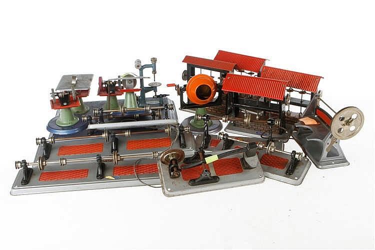 Konv. Wilesco Antriebsmodelle und Transmissionen