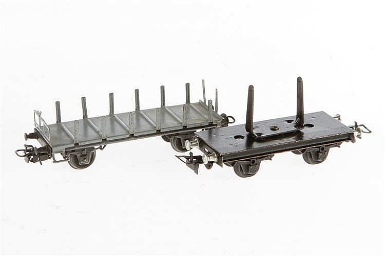2 Märklin Güterwagen