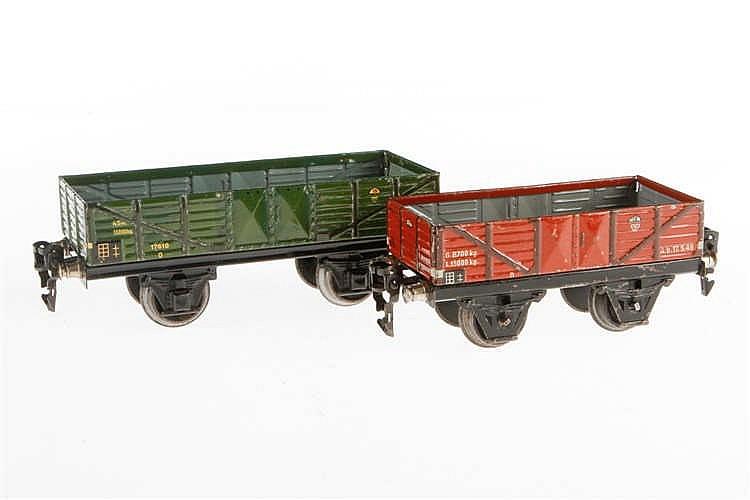 2 Märklin Güterwagen 1661 und 1761