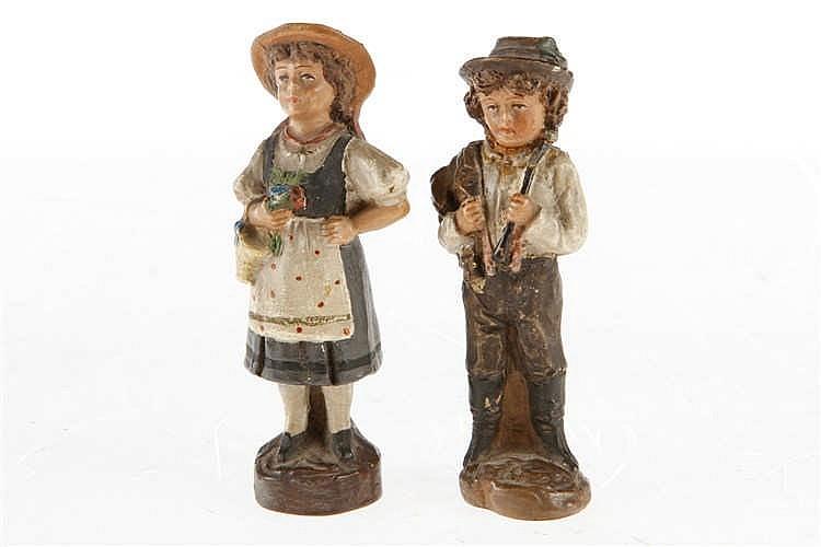 2 Terrakotta-Figuren