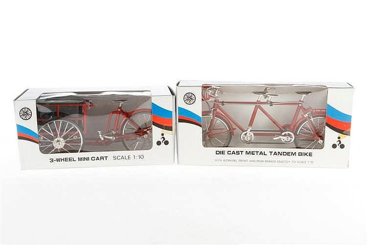 2 Fahrradmodelle