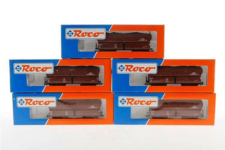 5 Roco Großgüterwagen 46239