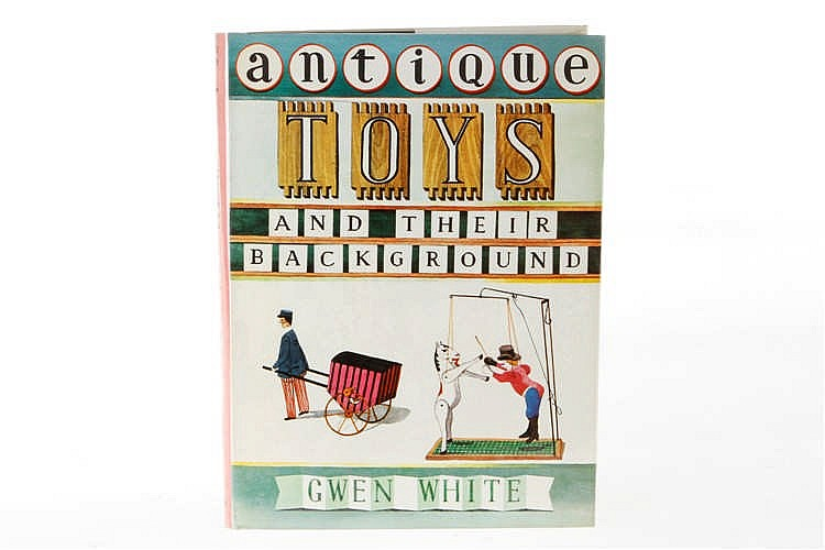 "Buch ""antique toys"""