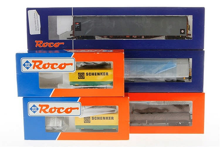 3 Roco Güterwagen
