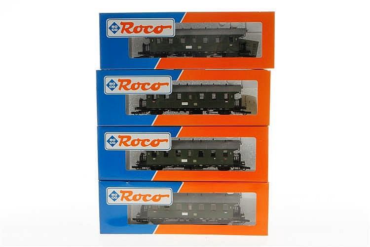 4 Roco Personenwagen 44201