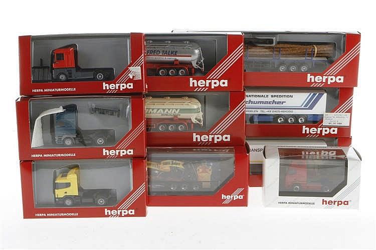 10 Herpa LKWs