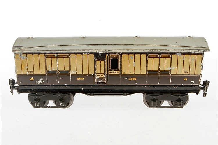 Märklin englischer Gepäckwagen 2874 LNWR