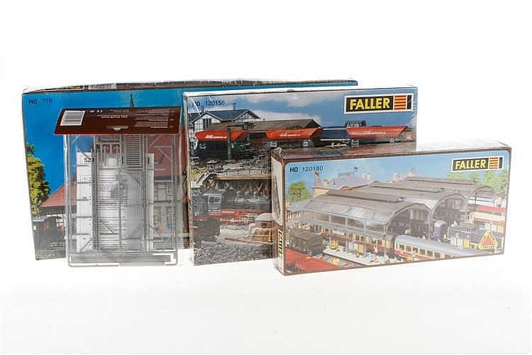 4 versch. Faller Bausätze 520/110116/120156/120180