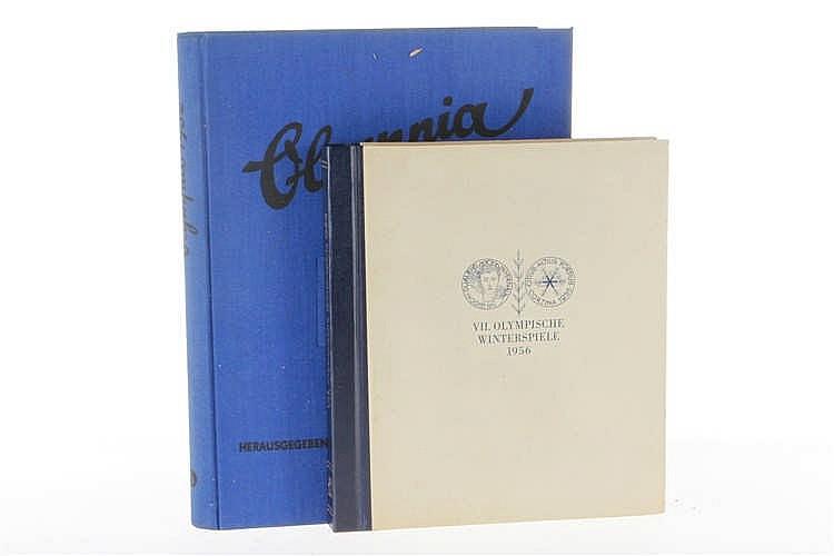 """2 Sammelalben """"Olympia"""" 1932 und 1956"""