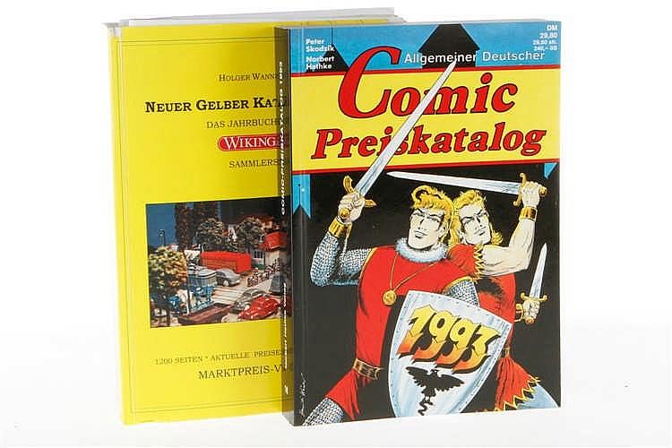 2 Preisführer Comic und Wiking