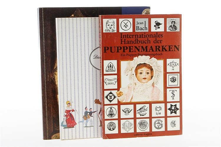 """3 Bücher """"Puppenmarken"""""""